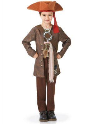 Perfetto costume di Jack Sparrow (bambino)