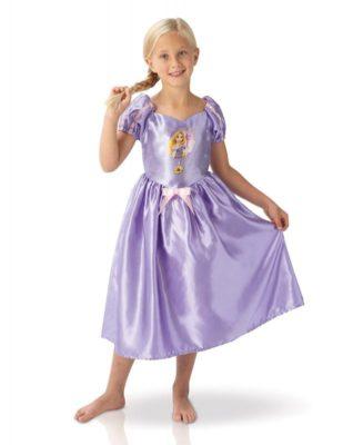Perfetto costume di Rapunzel (bambina)