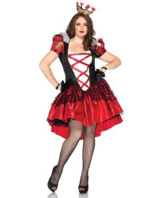 Perfetto costume regina di cuori (donna)