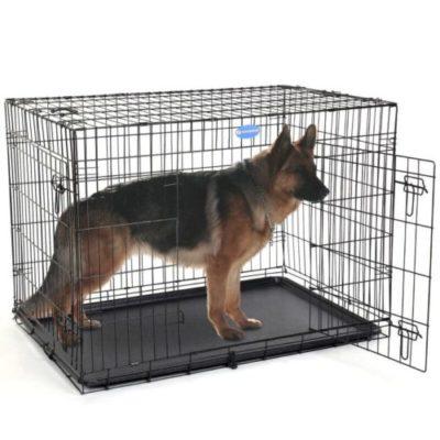sconto gabbie in metallo per cani