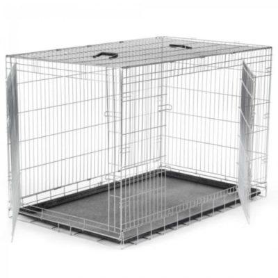 prezzi gabbie in metallo pieghevole per cani