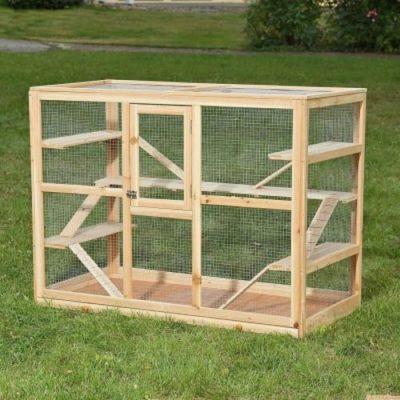 offerta gabbie legno cane