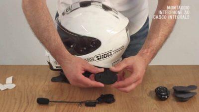 offerta interfono casco integrale moto