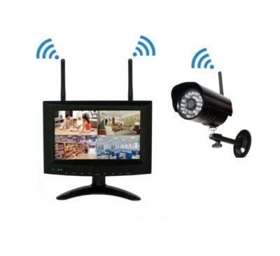 sconto kit sorveglianza wifi
