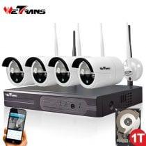 🏆Top 5 kit telecamere wifi: opinioni, offerte, i più venduti