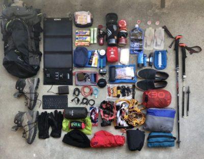 sconto kit trekking