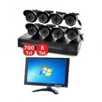 🏆Miglior kit videosorveglianza 8 canali: recensioni, offerte, i più venduti
