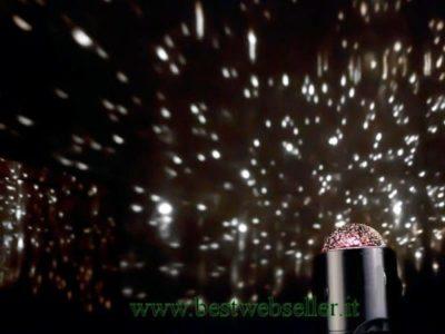 promozione lampade proiettore di stelle