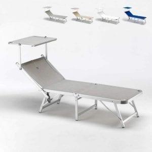 miglior lettino spiaggia alluminio