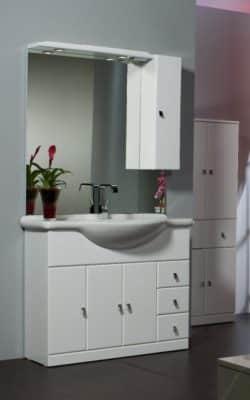 prezzi mobile bagno con specchio
