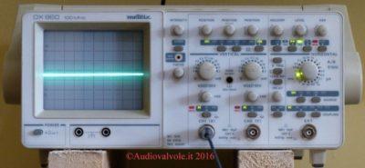 prezzi oscilloscopio analogico