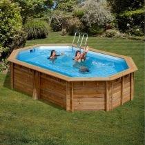 🏊Top 5 piscine esterne in legno: recensioni, offerte, guida all' acquisto