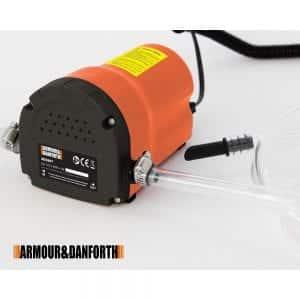 Pompa aspira olio 12 V