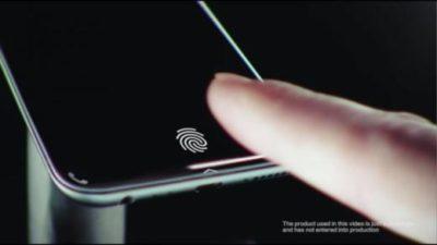sconto smartphone con impronte digitali