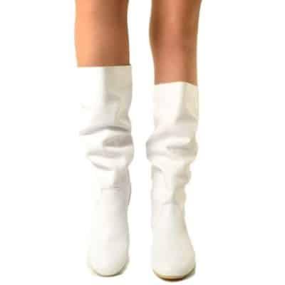 stivali bianchi donna offerte