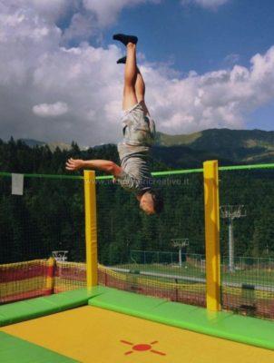 sconto trampolino professionale