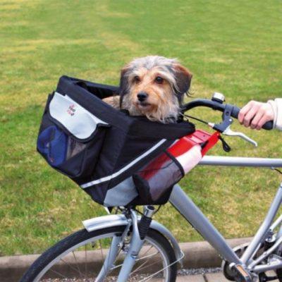 miglior trasportino bici cane trixie