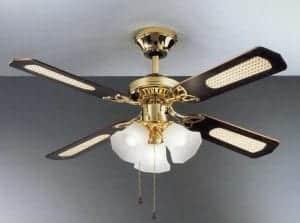offerta ventilatore lampadario