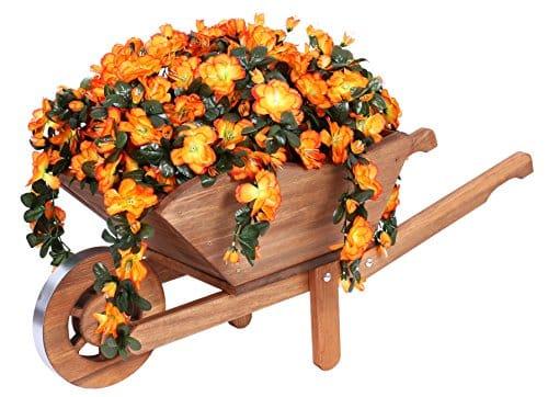 carriole da giardino in legno