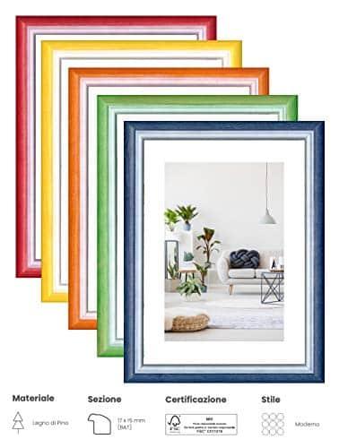 offerta cornici colorate