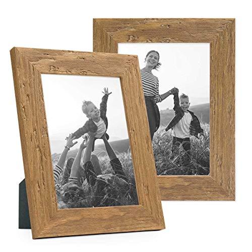 offerta cornici foto legno