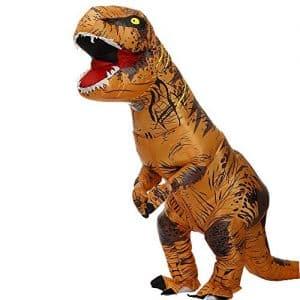 Ottimo costume da dinosauro t-rex