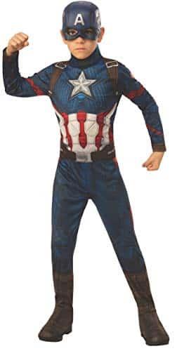 Perfetto costume di Capitan America (bambino)