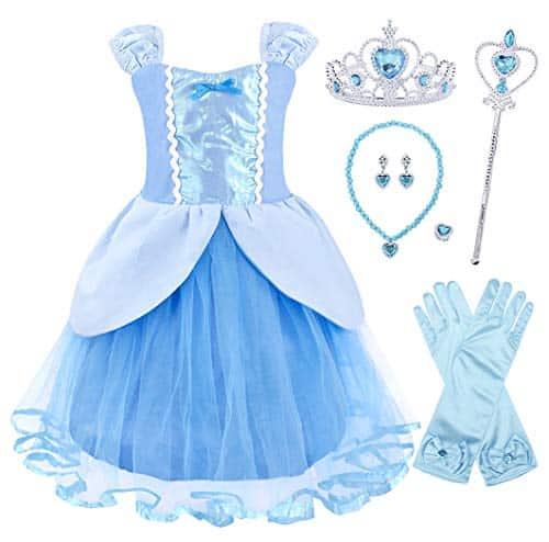 Offerta costume di Cenerentola (bambina)