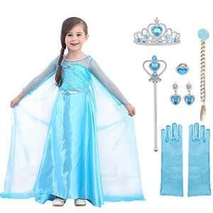 Perfetto costume di Elsa Frozen (bambina)