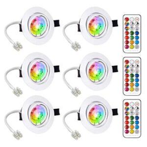faretti led multicolor