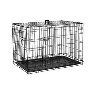 offerta gabbie in metallo per cani