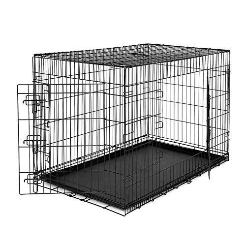 offerta gabbie in metallo pieghevole per cani