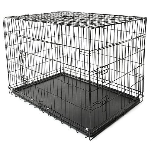 offerta gabbie metallo pieghevole cani
