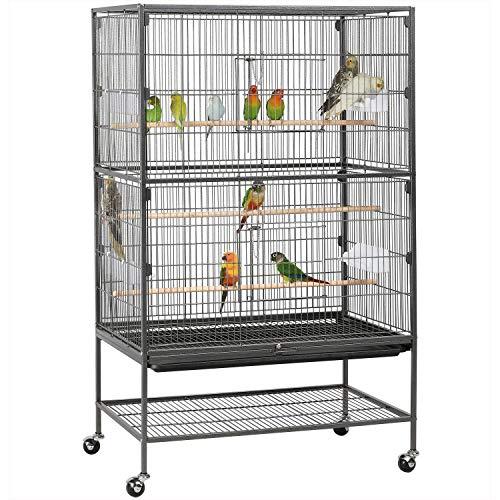 sconto gabbie voliera pappagalli