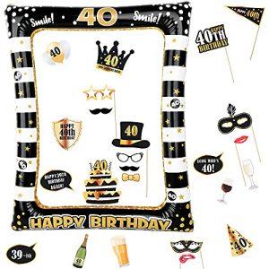 migliori gadget 40 anni festa