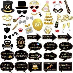 prezzi gadget 60 anni compleanno donna