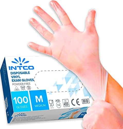 guanti di lattice