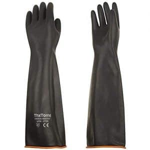 guanti lunghi lattice