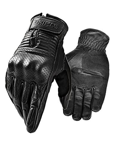 guanti moto pelle