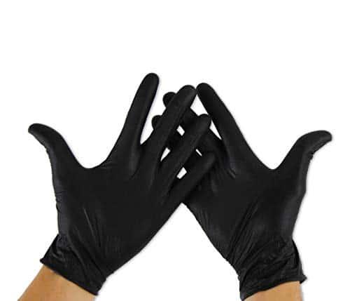 guanti nitrile neri