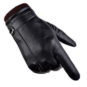 guanti pelle uomo