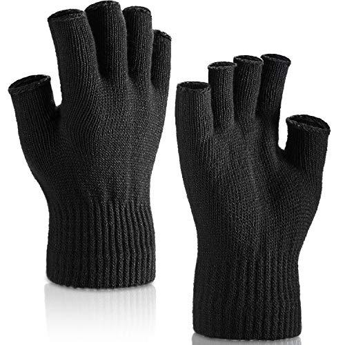 guanti senza dita uomo