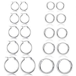 Offerte orecchini d'argento uomo