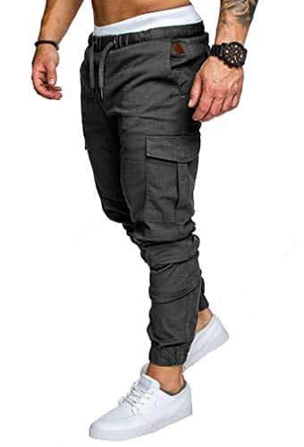 offerta pantaloni aderenti uomo