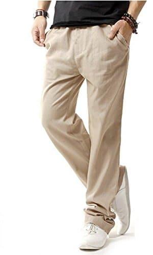 prezzi pantaloni lino uomo