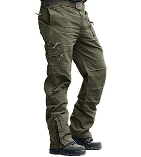 sconto pantaloni uomo militari