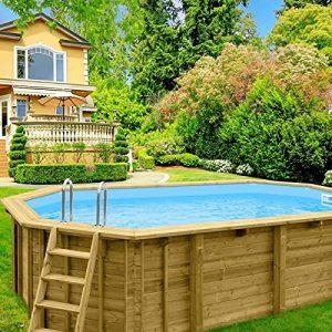 piscina in legno in offerta