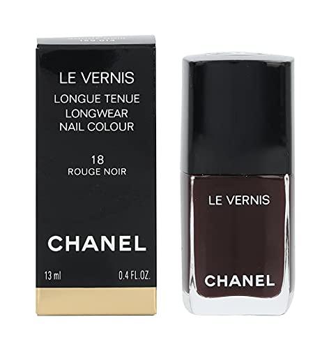 smalto Chanel rouge noir