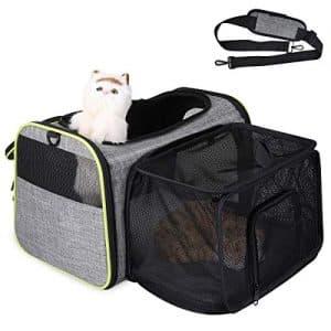 miglior trasportino gatto espandibile