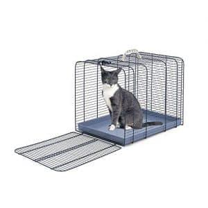 offerta trasportino gatto metallo